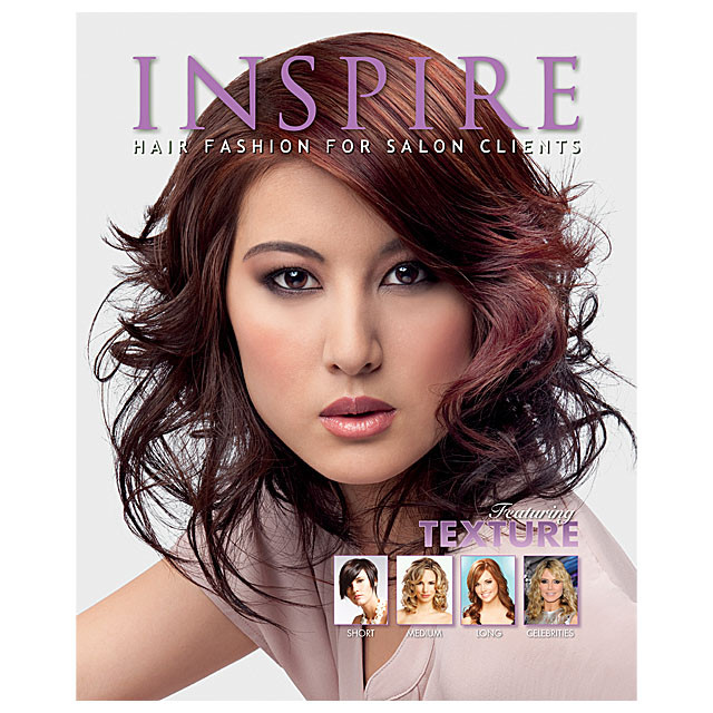 Vol 83  Featuring Texture  Inspire Hair Fashion Book for