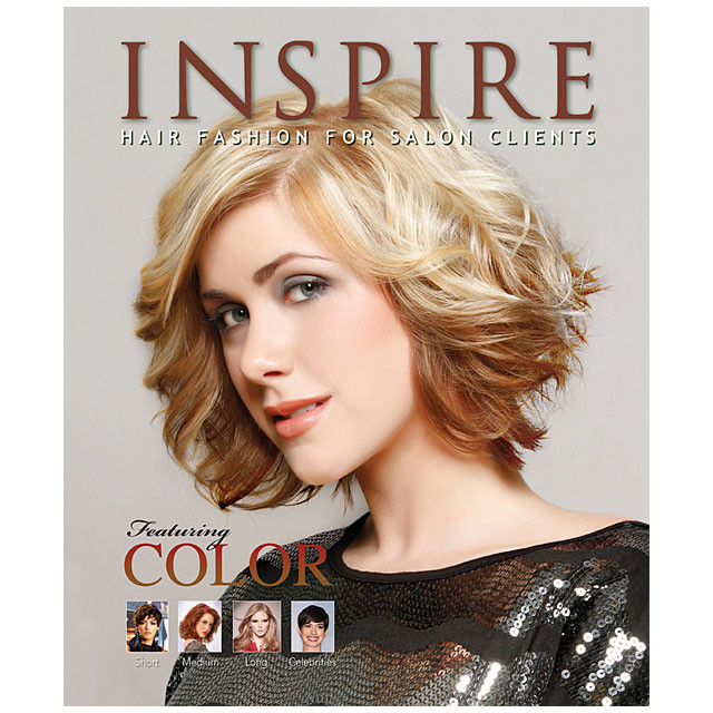 Vol 88  Featuring Color  Inspire Hair Fashion Book for Salon Clients at Giellcom