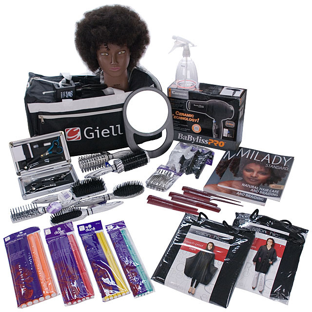 Natural Hair Care Amp Braiding Cosmetology Student Kit By Giell