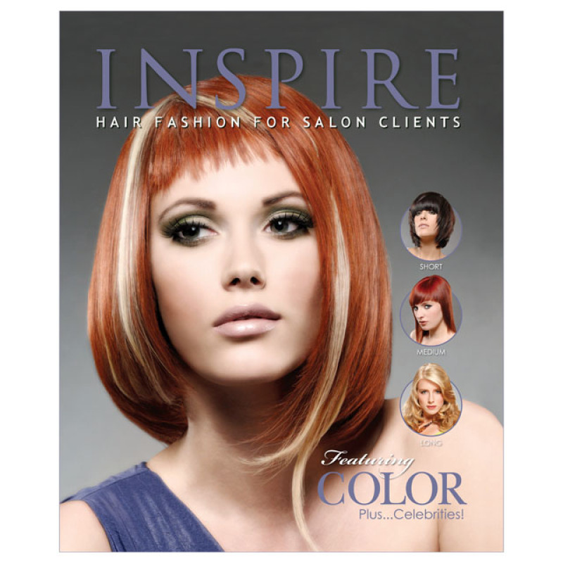 Vol 80  Featuring Color  Inspire Hair Fashion Book for