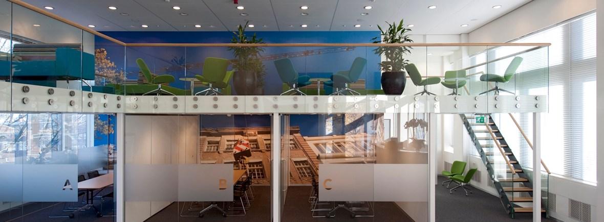 verbouwing kantoor met baliefunctie amsterdam gietermans van dijk architecten dvdh interieurarchitecten