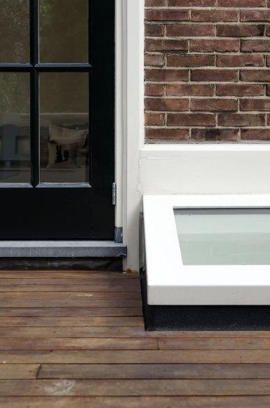 Dakterras detail - Verbouw en uitbreiding woonhuis in Amsterdam - Gietermans & Van Dijk architecten - Serena Silooy Photography