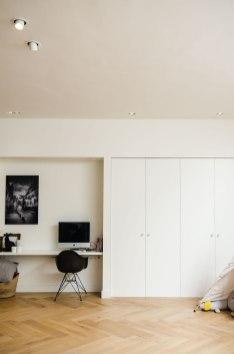Nieuwbouw woonkamer - Verbouw en uitbreiding woonhuis in Amsterdam - Gietermans & Van Dijk architecten - Serena Silooy Photography