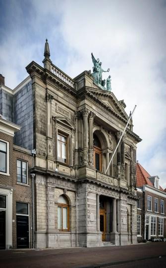Gevel Teylers Museum Haarlem - Toevoeging toiletgroepen Teylers Museum - Gietermans & Van Dijk architecten - Serena Silooy Photography