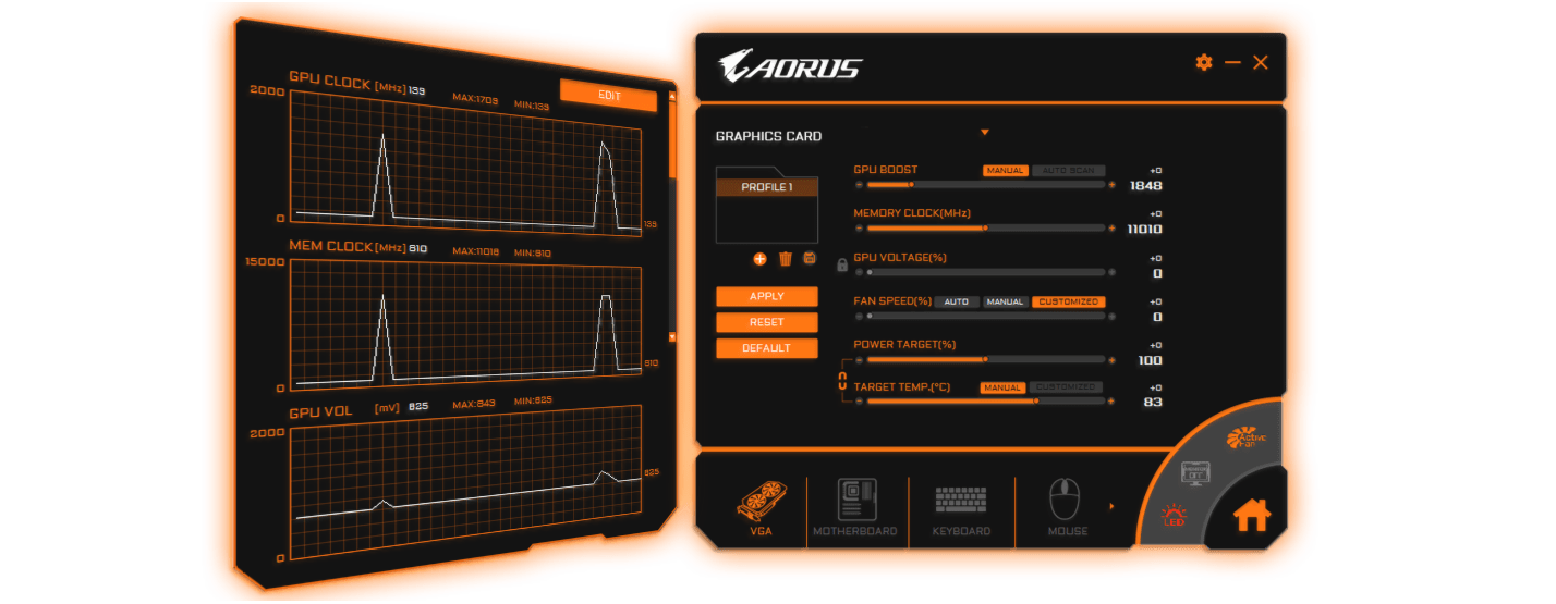 aorus geforce gtx 1080