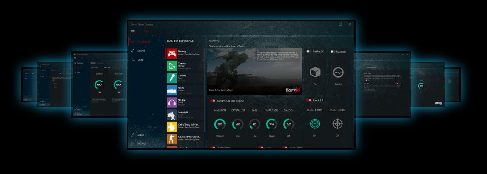 hight resolution of creative sound blasterx 720 software