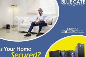 BLUE GATE - Light Uninterrupted Campaign - secured home