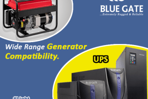 Blue gate ups - Light Uninterrupted Campaign - Wide Range Generator Compatibility