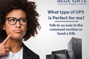 Blue Gate UPS - Light Uninterrupted Campaign - what type of UPS do i need