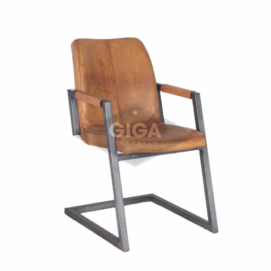 Betaalbare luxe leren stoelen koopt u bij Giga meubel