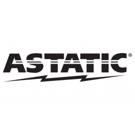 Astatic Single Coax 18ft with PL-259 GigaParts.com