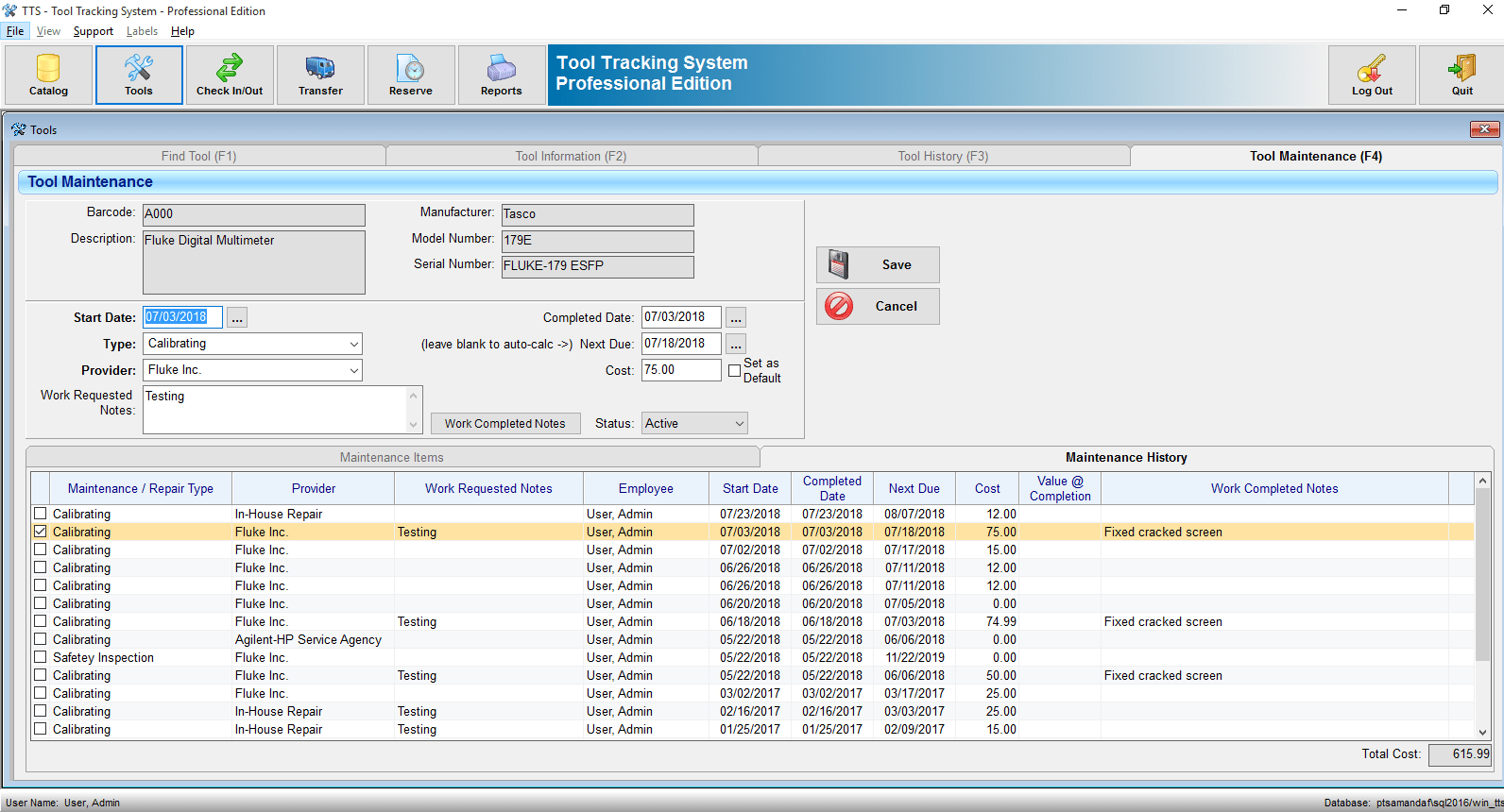 Tool Tracking System | Equipment Tracking Software