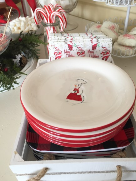 holiday plates