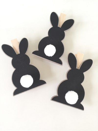 bunny tail clips