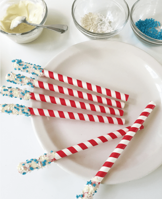 candied straws