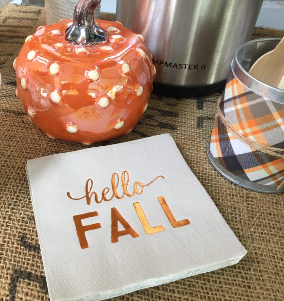 fall treat table