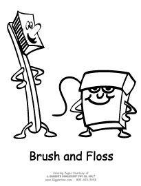 Floss And Healthy Teeth Activities For Kids Meet Penny