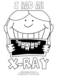 Funny X Ray Coloring Pages Coloring Pages