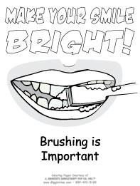 Dentist Coloring Pages: Giggletimetoys.com