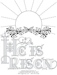 Easter Coloring Pages: Giggletimetoys.com