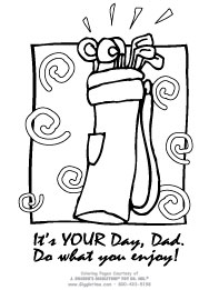 Father's Day Coloring Pages: Giggletimetoys.com