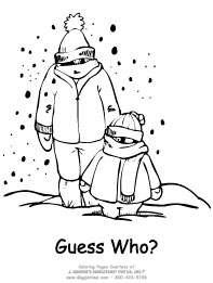 Winter Coloring Pages: Giggletimetoys.com