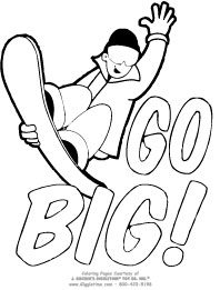 Sports Coloring Pages: Giggletimetoys.com