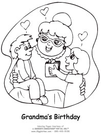 Birthday Coloring Pages: Giggletimetoys.com