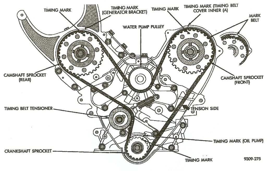 chrysler timing belt or chain