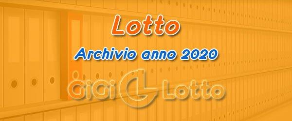 Archivio Lotto 2020