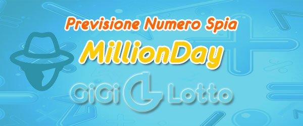 Previsioni MillionDay del 10-06-2020