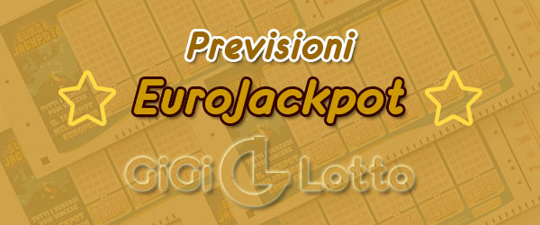 Previsioni Eurojackpot del 14-08-2020