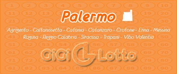Previsioni sulla ruota Palermo