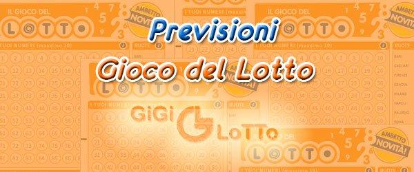 Previsioni Lotto del 20-04-2021