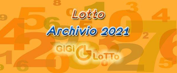 Archivio Lotto 2021