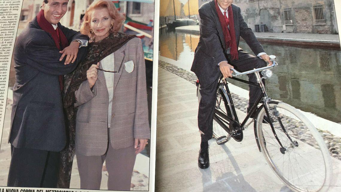 """Gente – 1991 – Gigi Sabani: """"Sono pronto a girare l'Italia per voi"""""""
