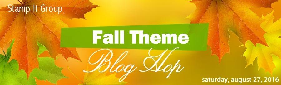 Fall Blog hop Banner