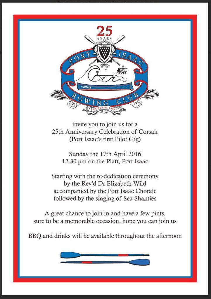 Port Isaac invite