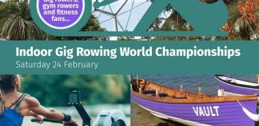 Eden Indoor Gig Rowing Championships – BOOK FAST!