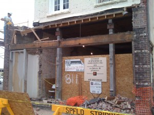 Our Springfield, MO building is getting a facelift
