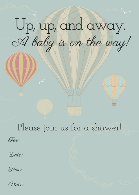 picture printable invitation invitations templates baby free shower pagespeed ic