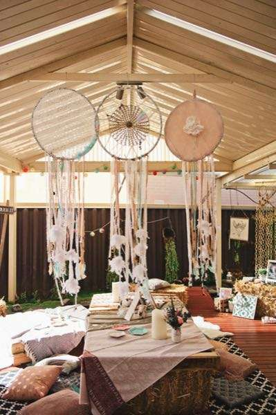 Planning A Party With A Beautiful Bohemian Theme