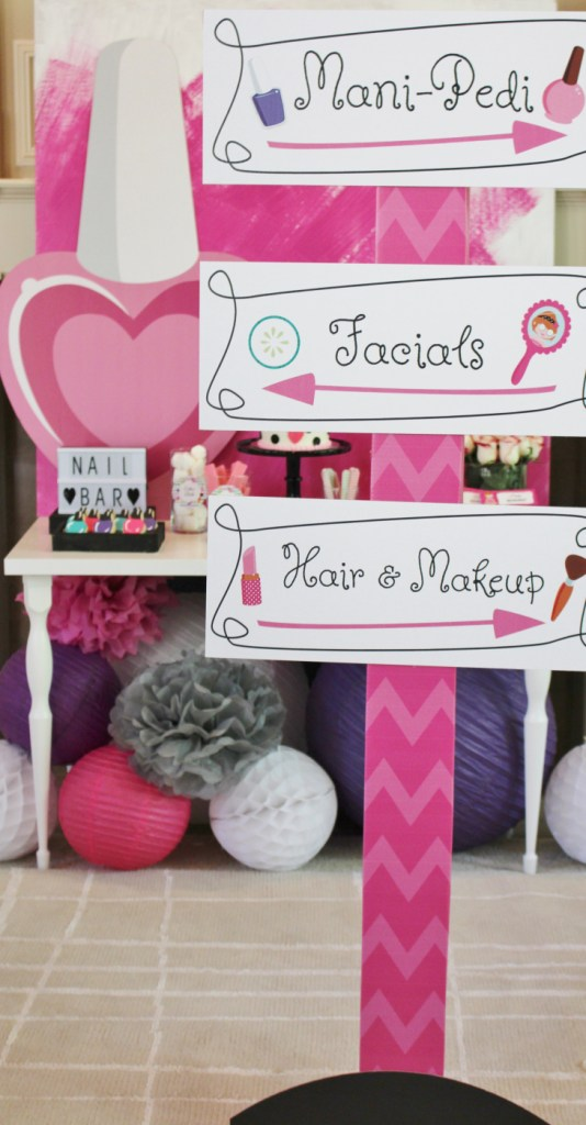 How to Throw a Glamorous Kids Spa Party  6aad63cb8