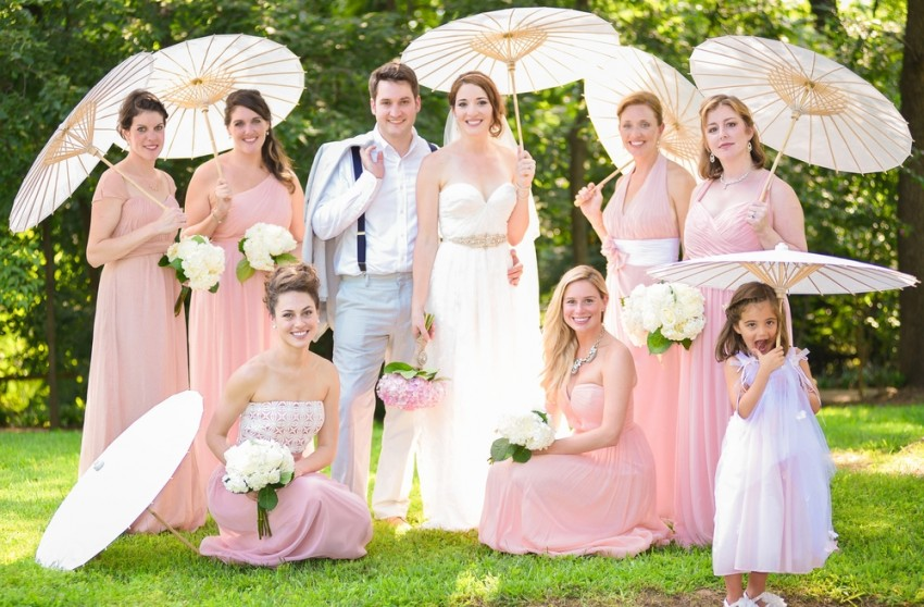 15 Cute Ideas For Your Spring Wedding Photo Shoot