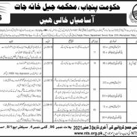 Jail Khana Jat Punjab NTS Latest Jobs 2021