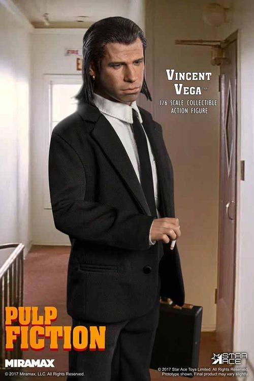 Pulp Fiction Vincent Vega  16 Scale John Travolta Quentin Tarantino  Star Ace 0041