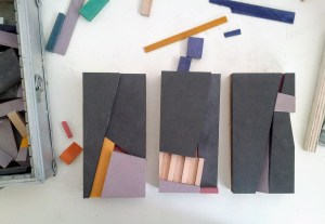 studio Gijs Pape, 10 x 20 cm objects for affordable art fair