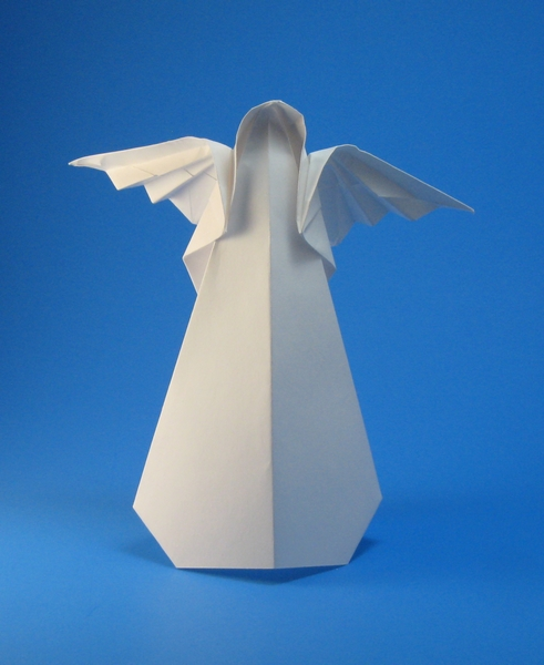 origami angel step by diagram dodge durango radio wiring angels page 1 of 2 gilad s toshio chino folded aharoni