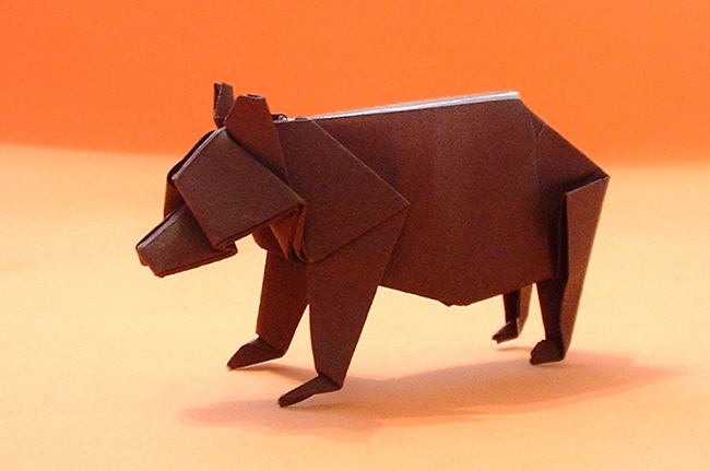 Origami Bear Diagram
