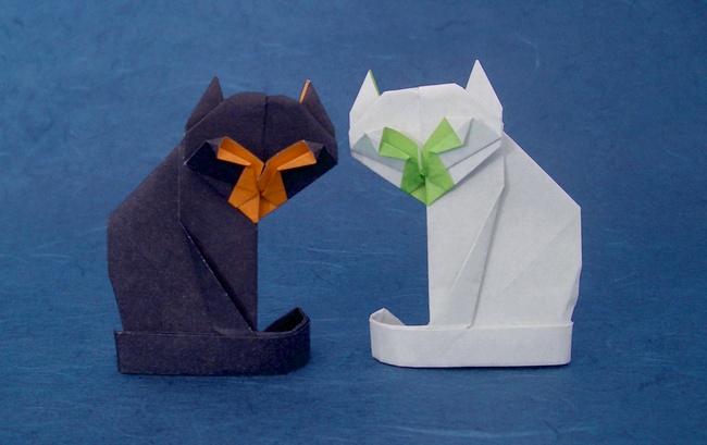 Origami Cat Diagrams
